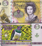 PITCAIRN ISLANDS 5 pounds 2018 - UNC
