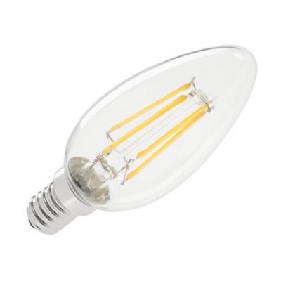 BEC LED (FILAMENT) LUMANARE 4W E14 3000K foto