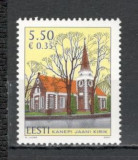 Estonia.2007 Biserica Sf.Johannis Kanepi  SE.284, Nestampilat