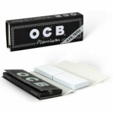 Foite OCB SLIM BLACK 110MM + FILTER TIPS