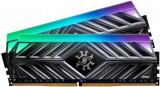 Memorie A-DATA Spectrix D41, 8GB, 2666 MHz, DDR4, RGB (Gri), A-data