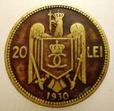 R.073 ROMANIA CAROL II 20 LEI 1930