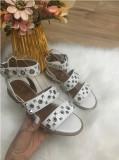 Sandale dama albe gladiator marime 37, 39, 40+CADOU
