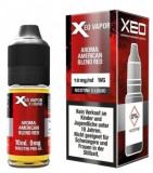 Lichid Tigara Electronica Premium Xeo American Blend Red Tobacco, Nicotina 18mg/ml, 70%VG si 30%PG, Fabricat in Germania