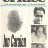 Caiete critice 1-2 (98-99)/1996 Ion Caraion Revista lunara de critica literara