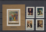 ROMANIA 1972 LP 826 LP 827 EXPOZITIA FILATELICA  SOCFILEX III  SERIE+COLITA MNH
