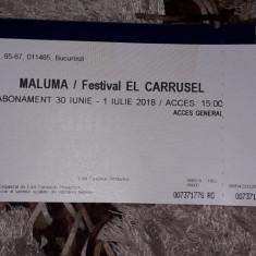 Vând bilet concert Maluma., Alte tipuri suport muzica