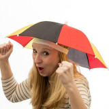 Umbrelă-Pălărie Steagul Germaniei