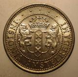 2.851 JETON OLANDA AMSTERDAM MOKUM 700 FLORIJN 1975 XF/AUNC 22mm