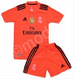 Compleu Echipament Fotbal Real MADRID RONALDO 2018-2019  pt. copii 12-15 ani, YXL, YXXL, Set echipament fotbal