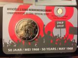 moneda BELGIA 2 euro comemorativa 2018, coin card