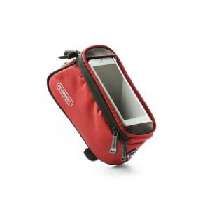 Suport Telefon Bicicleta Universal (5) (Rosu)