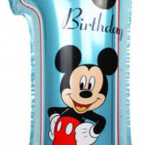 Balon Folie Figurina Mickey Mouse 1st Birthday, Disney