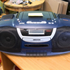 Radiocasetofon cu Cd cu probleme (55370), 0-40 W
