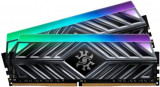 Memorie A-DATA Spectrix D41, 3200MHz, 16GB, DDR4, RGB (Gri)