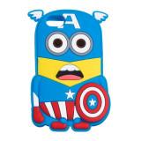 Husa APPLE iPhone 5\5S\SE - 3D (Superman Bleumarin)