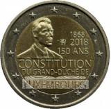 LUXEMBURG moneda 2 euro comemorativa 2018 - UNC, Europa, Cupru-Nichel