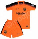Compleu Echipament Fotbal FC BARCELONA MESSI MODEL 2018-2019  copii 11-12 ani, YL, Set echipament fotbal