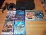 Consola Playstation 2/ps2 cu jocuri originale si accesorii