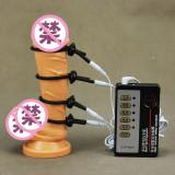 Electrostimulator Muscular Penis Shock Therapy Electro Sex Kit Masaj Cockring x4