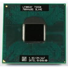 Procesor Laptop Intel Core2Duo T5550 1830Mhz/2M Cache/ FSB 667