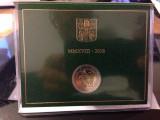 VATICAN moneda 2 euro comemorativa 2018  - folder BU, Europa, Cupru-Nichel