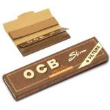 Foite OCB VIRGIN PAPER KING SIZE SLIM 110mm + FILTER TIPS