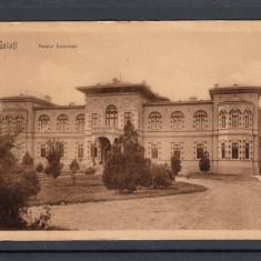 GALATI   PALATUL  EPISCOPAL  CIRCULATA   1908  UPU, Printata