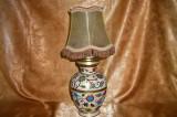 Veioza Cloisonne, alama, email, colectie, cadou, vintage