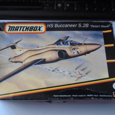 bnk jc Avion - macheta - HS Buccaneer S.2B Desert Storm - Matchbox 1/72