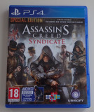 JOC original Consola Sony Ps4 PlayStation 4 Assassin's Creed Syndicate Blu-Ray, Multiplayer