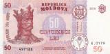 MOLDOVA █ bancnota █ 50 Lei █ 2015 █ P-24 █ UNC █ necirculata