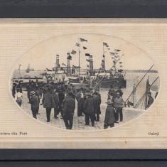 GALATI   VEDERE  DIN  PORT  CIRCULATA   1916 EDITURA  LIBRARIEI NEGOESCU&MANITIU, Printata