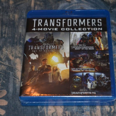 Film - Transformers Quadrilogy [4 Filme - 5 Discuri Blu-Ray] Import UK, BLU RAY, Engleza, universal pictures