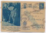5020 - Maresalul Ion ANTONESCU & HITLER - C. P. Militara, CENSOR - used - 1944