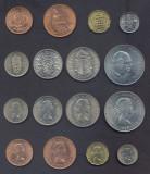 MAREA BRITANIE █ SET █ 1/2+1 Penny +3+6 Pence +1+2 Shilling +1/2+1 Crown █ UNC, Europa