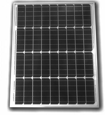 Panou Solar Fotovoltaic Monocristalin 50 W 55w foto