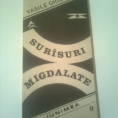 SURISURI MIGDALATE  ( AFORISME )  ~ VASILE GHICA
