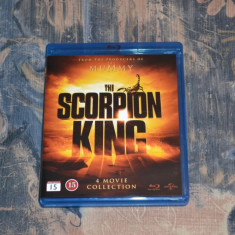 Film - The Scorpion King 1-4 [4 Filme - 4 Discuri Blu-Ray], Import, BLU RAY, Engleza, universal pictures
