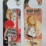 Semne de agatat la usa pentru copii Hannah Montana