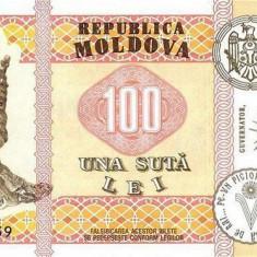 MOLDOVA █ bancnota █ 100 Lei █ 2015 █ P-25 █ UNC █ necirculata