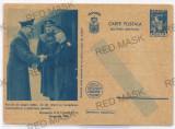 5019 - Maresalul Ion ANTONESCU & HITLER - Carte Postala Militara  - 1940