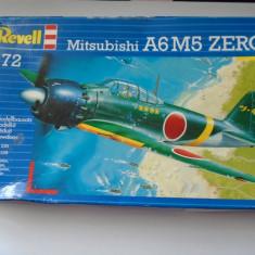 bnk jc Avion - macheta - Mitsubishi A6M5 Zero  - Revell - 1/144