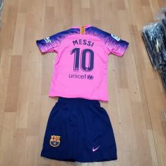 Echipament copii 4-16 ani FC BARCELONA,10 MESSI,MODEL NOU 2018-2019, YXS, YXXL, Tricou + Pantalon