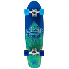 "Cruiser Mindless Longboards Daily Grande II blue/blue 28""/71cm"