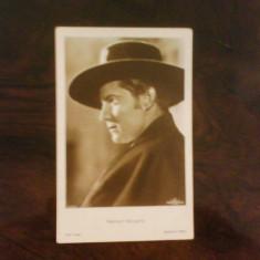 Poza cinema, actori interbelici, Ramon Navarro, format carte postala