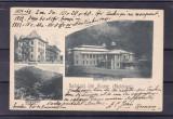 SALUTARI DIN SLANIC MOLDOVA CASINO REGAL  HOTEL PUFF  VILA MUNTEANU CLASICA 1898, Circulata, Printata