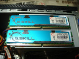 Kit memorie ram G.SKILL 2GB (2 x 1GB)  DDR2 800 Dual Channel kitt, DDR 2, 2 GB, G.Skill