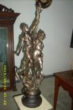 statueta antimoniu