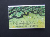 FINLANDA PASARI,CARNET, Nestampilat